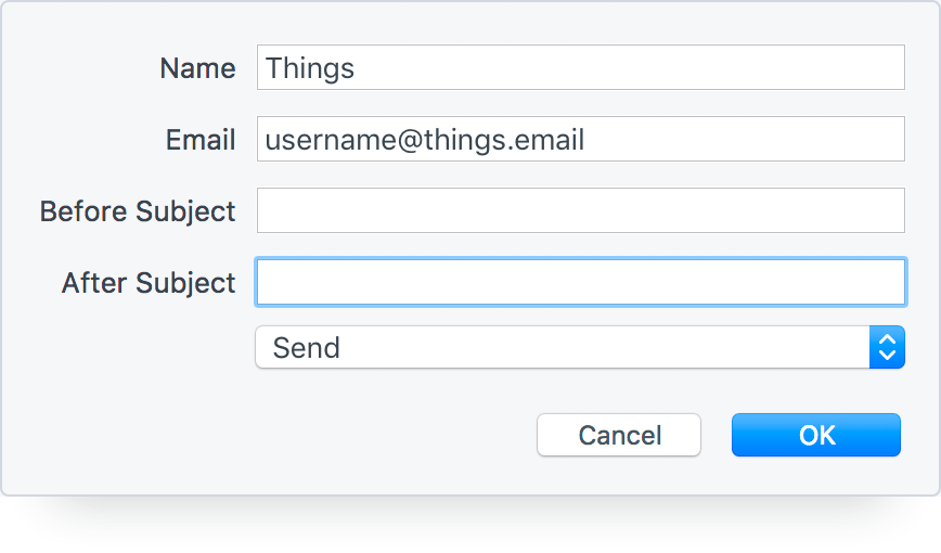 Turn Emails into Things Tasks